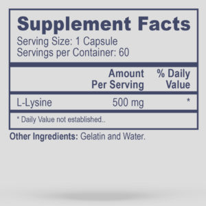 L-Lysine (Discontinued)