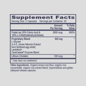 SHMT Assist (Methyl-Glycine-GSH Boost)