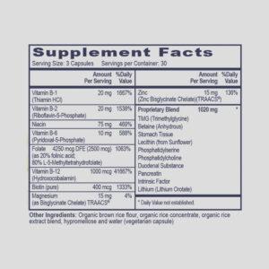 MTHFR & BHMT Assist (Methyl Boost)