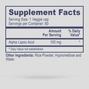 Pro Alpha Lipoic Acid