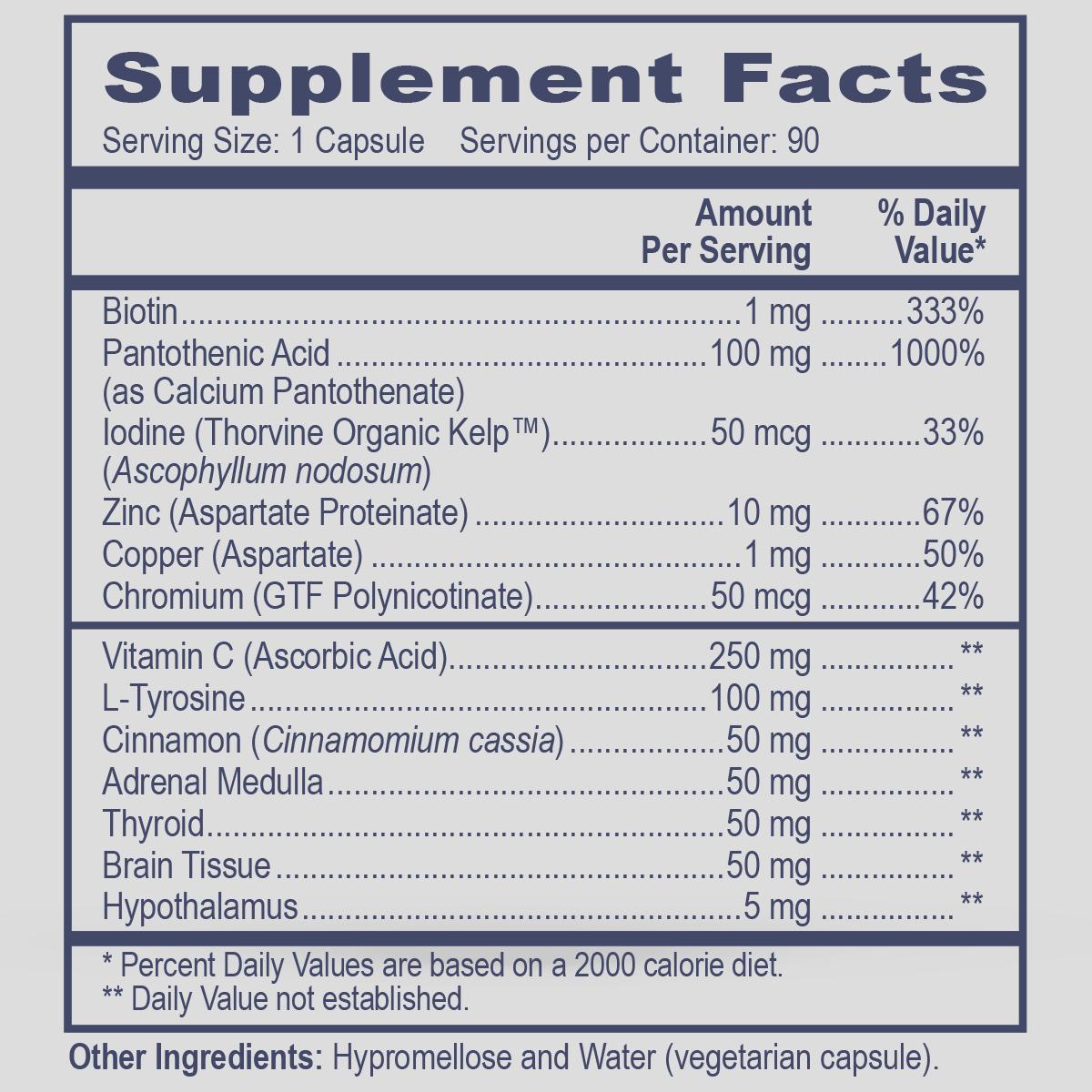 Metabolic Enhancer