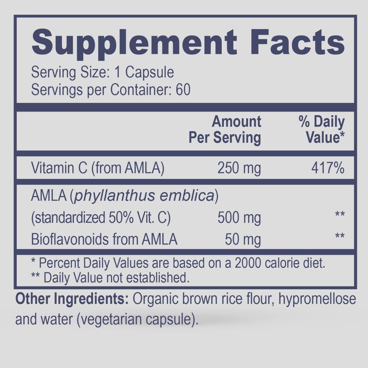 AMLA-C (Natural Vitamin C)