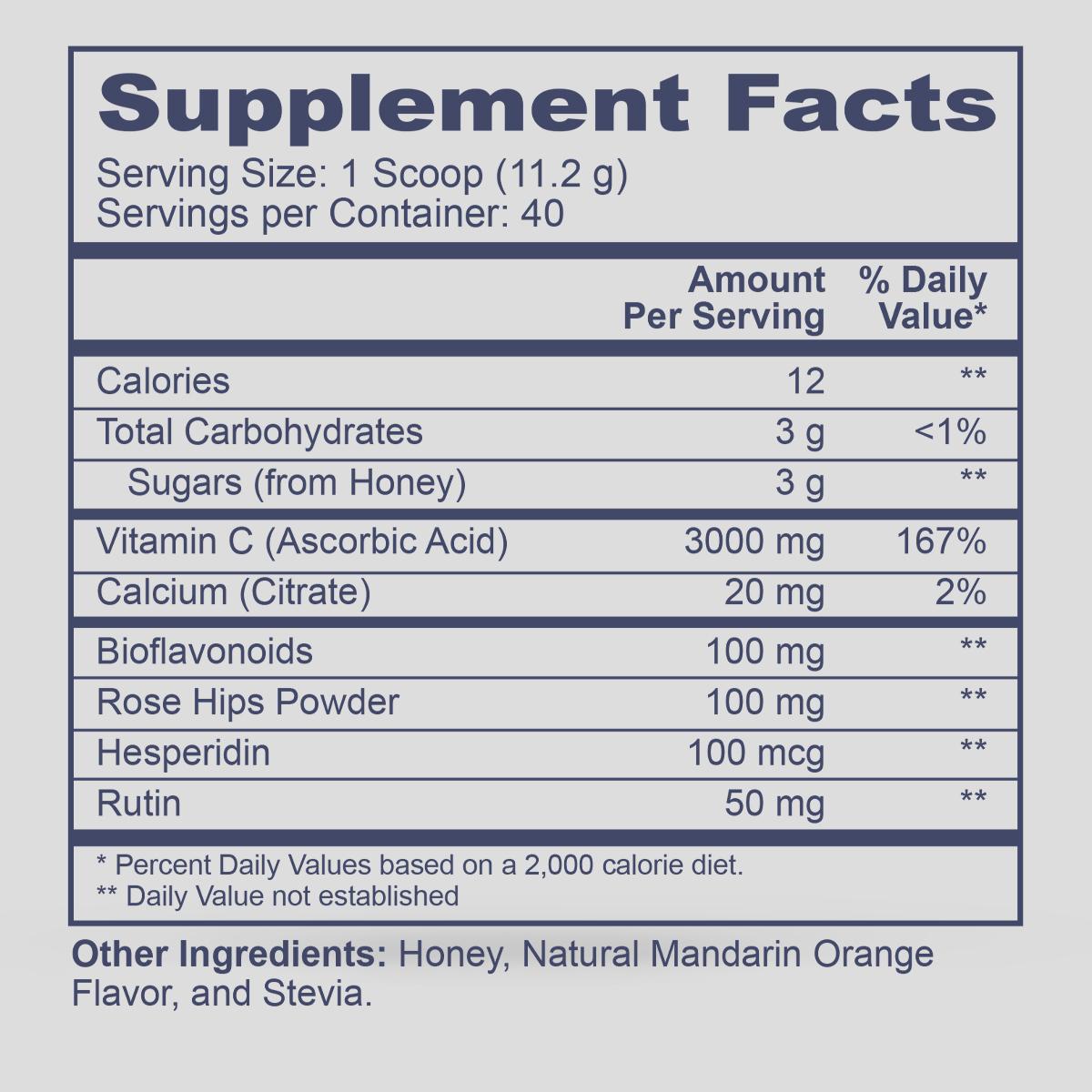 Pro C Drink Stevia