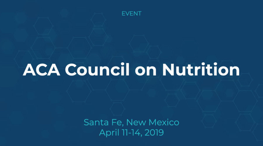 ACA Council on Nutrition