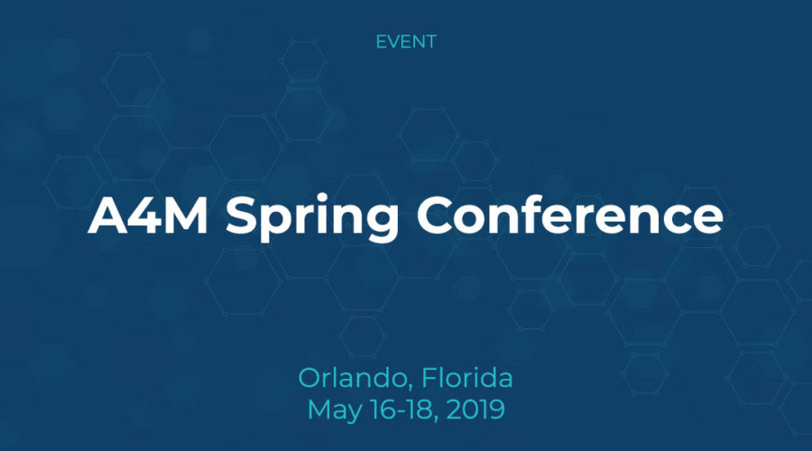 A4M Spring Conference