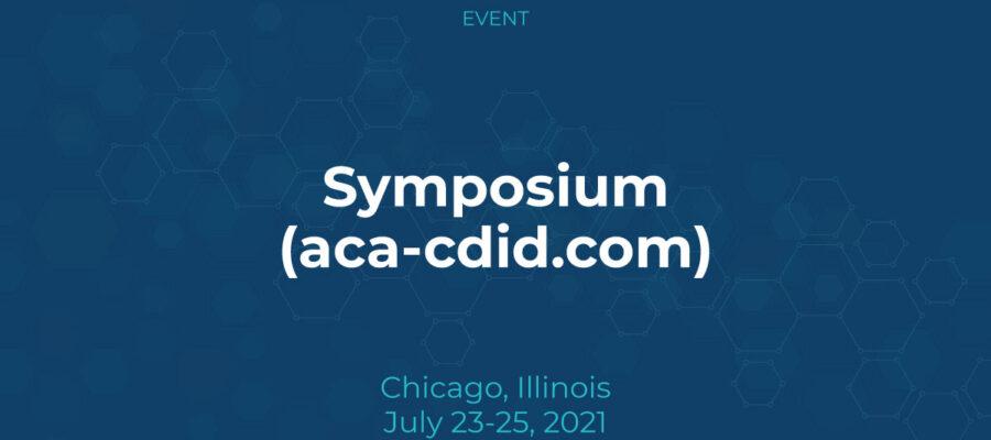 Symposium (aca-cdid.com)