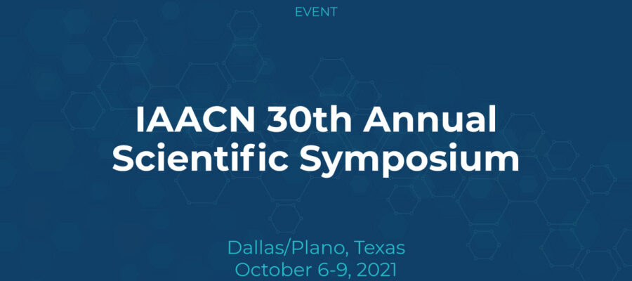 IAACN 30th Annual Scientific Symposium