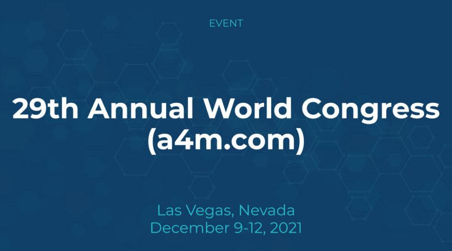29th Annual World Congress